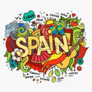 34329115-spagna-lettering-a-mano-e-doodles-elementi-di-sfondo